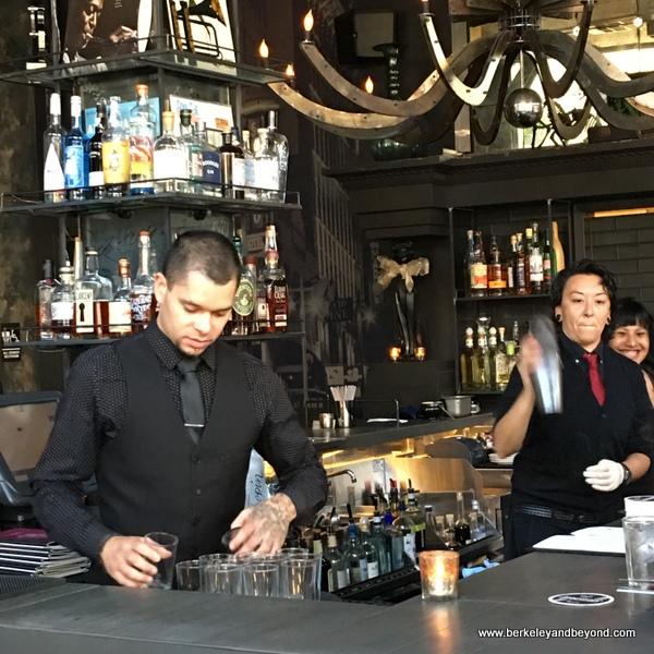 upstairs bar at the Black Cat in San Francisco, California