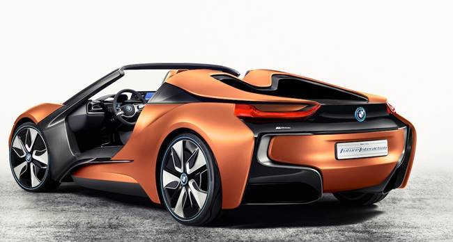BMW i8 Roadster Spyder Plug-in Hybrid 2018 Launch