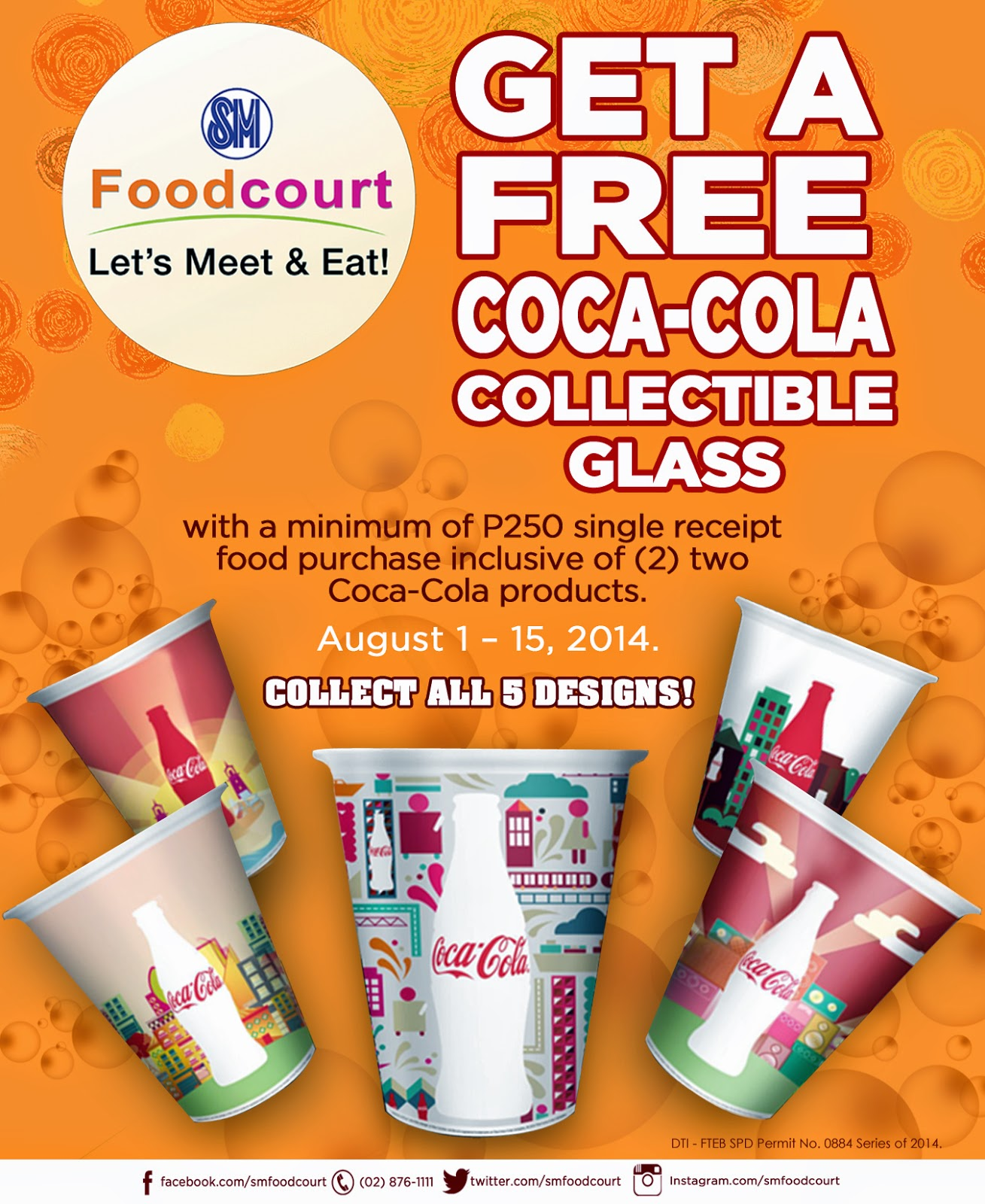 Coca-Cola Collectible Glass Promo