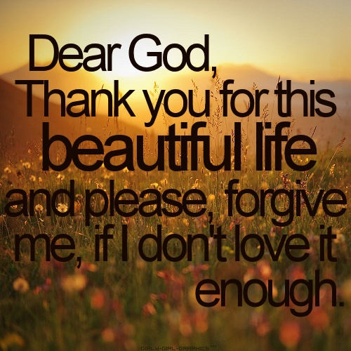 Thankful Of Life Quotes: Thank You Blessing Quotes. QuotesGram