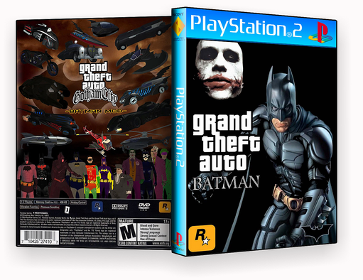 PS2 – GTA Batman ps2 – ISO