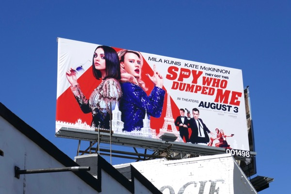 Spy Who Dumped Me billboard