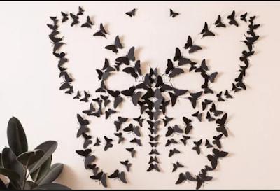 Inspirasi Hiasan Dinding  Dari Kertas Yang Membuat Anda  Kerasan Di Dalam Kamar 5