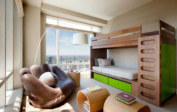 bunk beds with slide