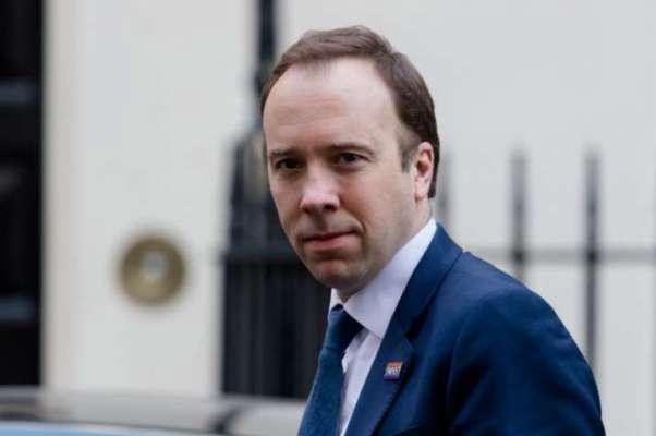 UK Health Secretary Matt Hancock
