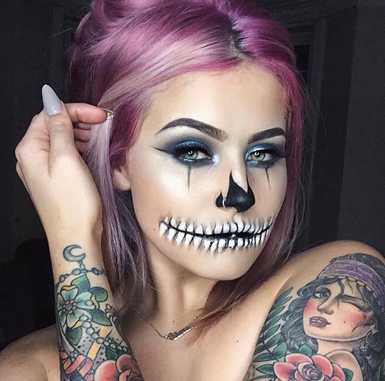 Famoso Only Shopping Blog - Fashion Blogger: Halloween Make Up  JA89