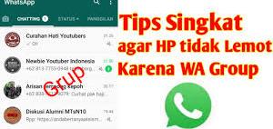 Inilah Cara Memperbaiki WhatsApp: Apakah WhatsApp Lelet?  1
