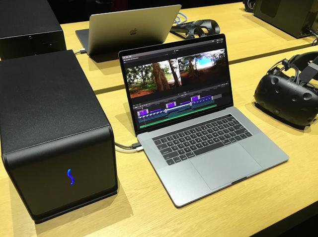 MacBook Got External Graphics Card, Use Radeon RX 580 8 GB