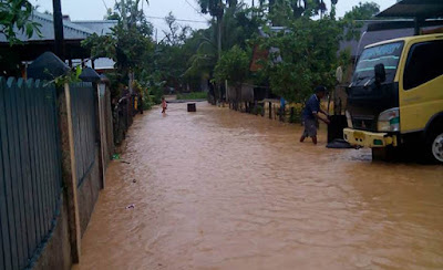 Banjir di Sorong Papua, Rendam Ratusan Rumah