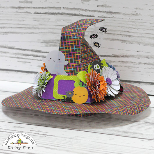 Doodlebug Design: Booville Witch's Hat