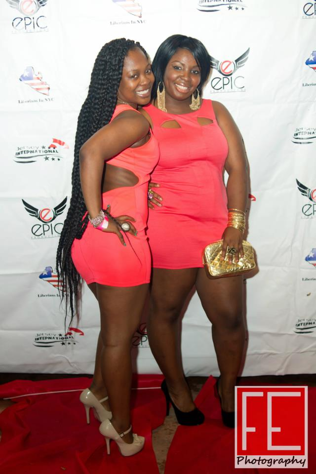 Berrykiss Inspires Hot Photos Liberian Girls In New York Celebrate The Liberian Independence Extravaganza