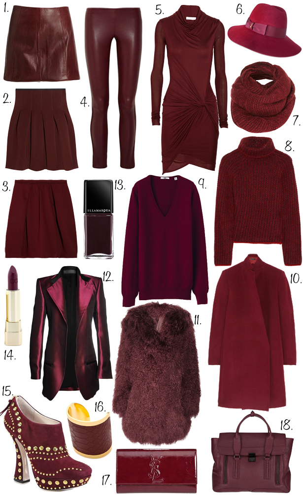 The Style Engineer Currently Craving Burgundy
