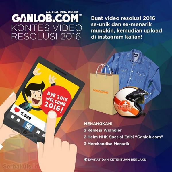 Kontes Video Resolusi 2016 Berhadiah 2 Kemeja Wrangler