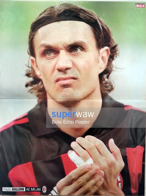 Poster Paolo Maldini (AC Milan)
