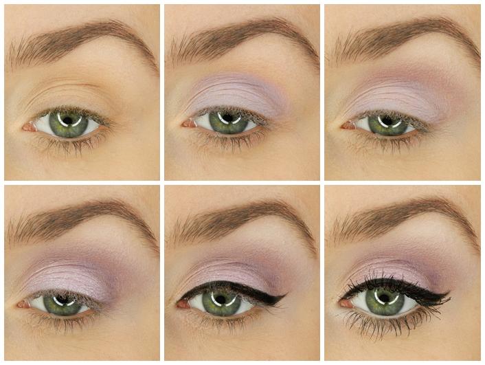 Szybki Makijaż Dla Zielonych I Niebieskich Oczu Czyli Fioletowe