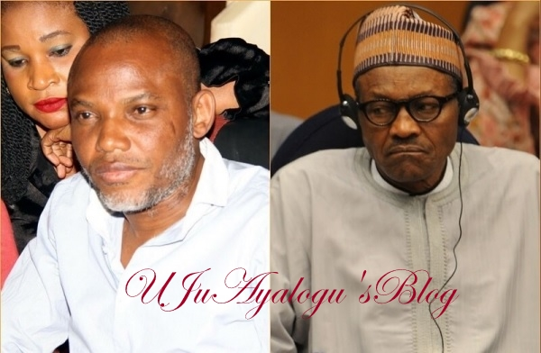 Why Buhari should be arrested – Nnamdi Kanu