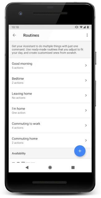 Ein Screenshot der Assistant Einstellungen auf einem Smartphone