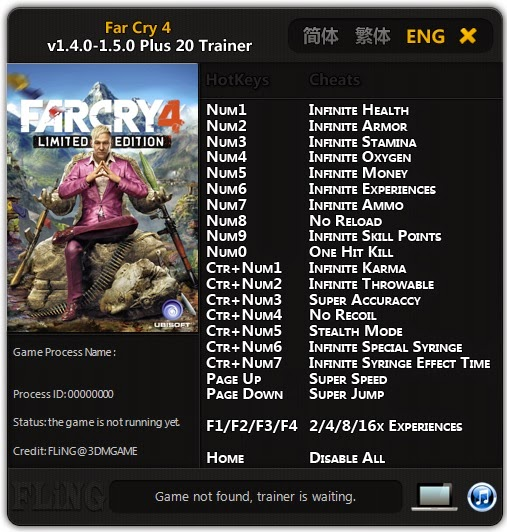 Far Cry 4 - PC Game Trainers Download - Black View Trainers