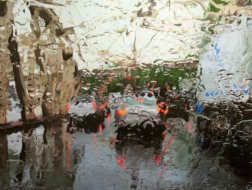 10-McGrath-Gregory-Thielker-Oil-Paintings-In-The-Rain-Photo-realistic