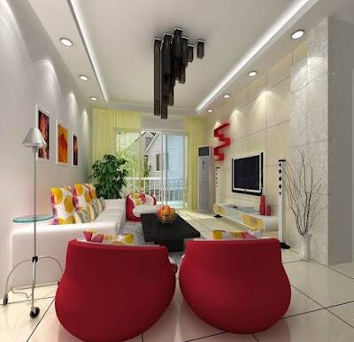 Gambar Desain Interior Ruang Keluarga Minimalis