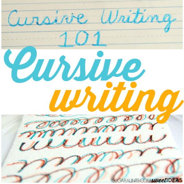 How to Teach Cursive Letters | The OT Toolbox