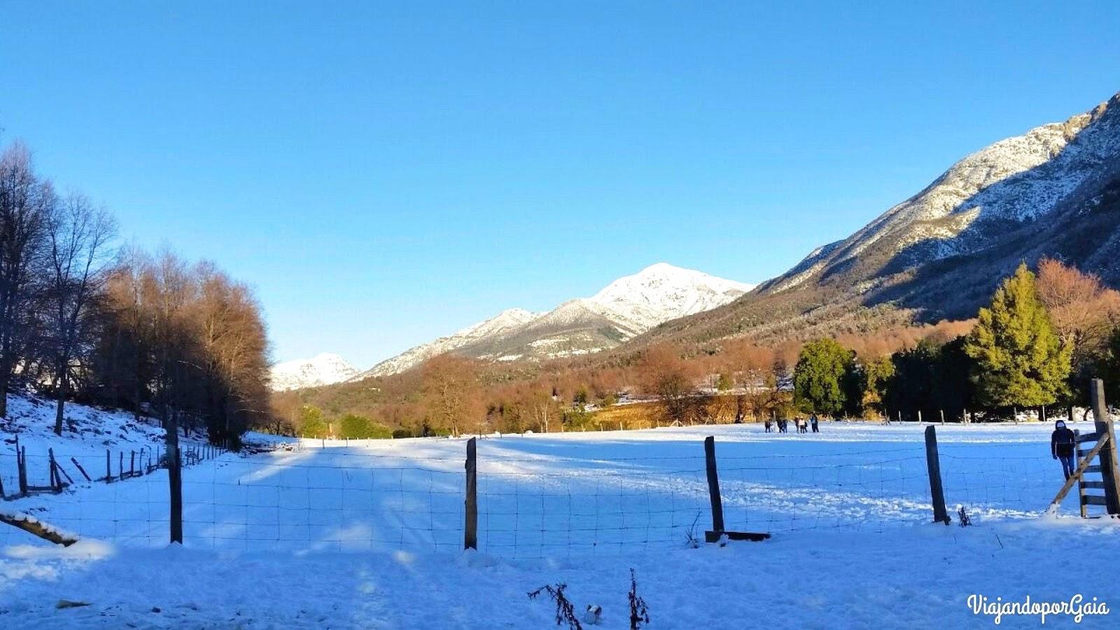 San Fabián en invierno