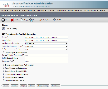 Integrate VoIP with 3CX using CUCM - make configuration