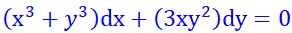 http://www.mathuniver.com/2017/12/38exact-equation-x3y3dx3xy2dy0.html