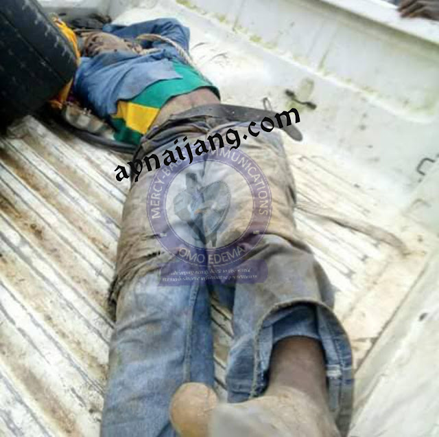 See how a passenger hanged a commercial motorcyclist to death & buried him on his farmland in Agbado-Ekiti