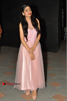 Actress Nidhisha Reddy Pos in Beautiful Pink Dress at Virus Telugu Movie Audio Launch .COM 0004.JPG