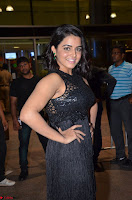 Wamiqa Gabbi in a sleeveless Black Designer Transparent Gown at 64th Jio Filmfare Awards South ~  Exclusive 081.JPG
