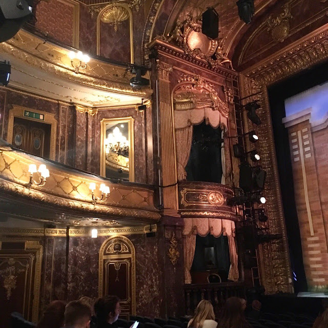 Inside the Theatre Royal Haymarket