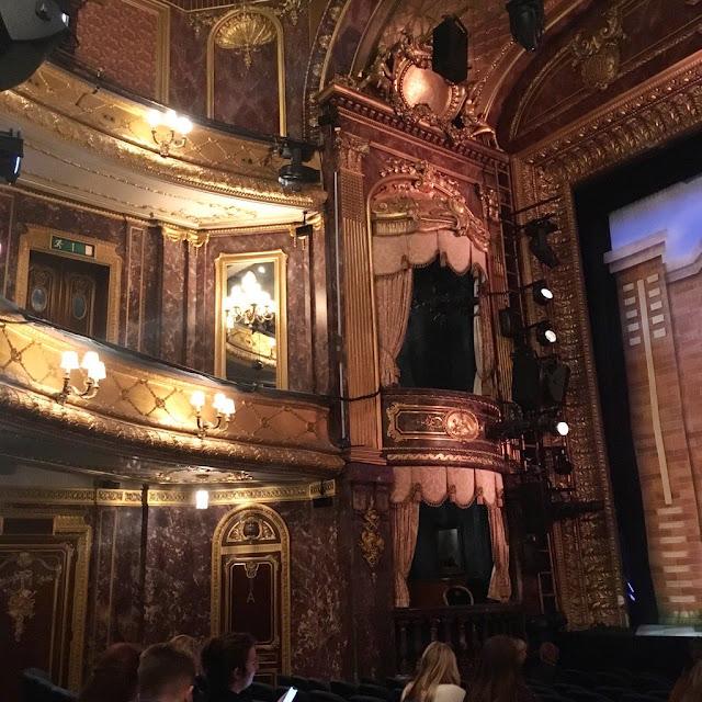 Inside the Theatre Royal Haymarket