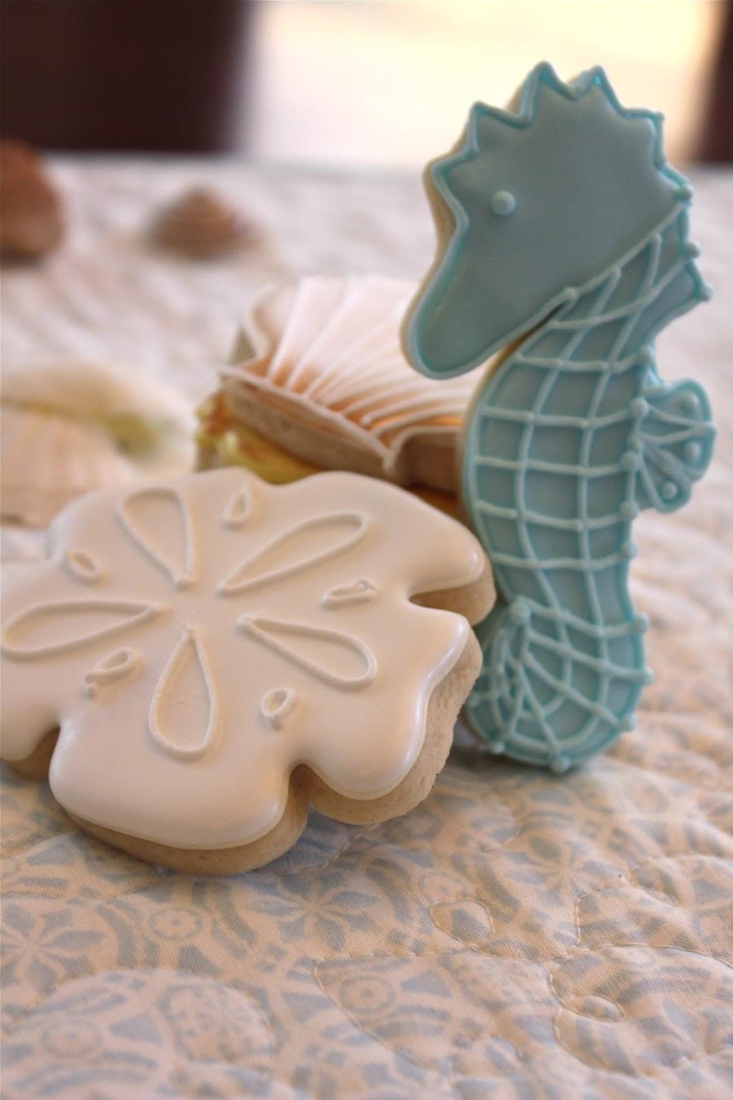 Sugar Beas Blog Simple Summer Cookies Beach Themed