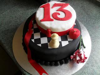Eclipse Birthday Cake