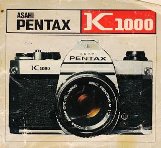 Poster iklan Pentax K1000