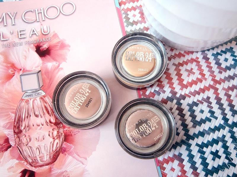 eyeshadow base, cień kremowy, baza pod cienie, Creme de Rose