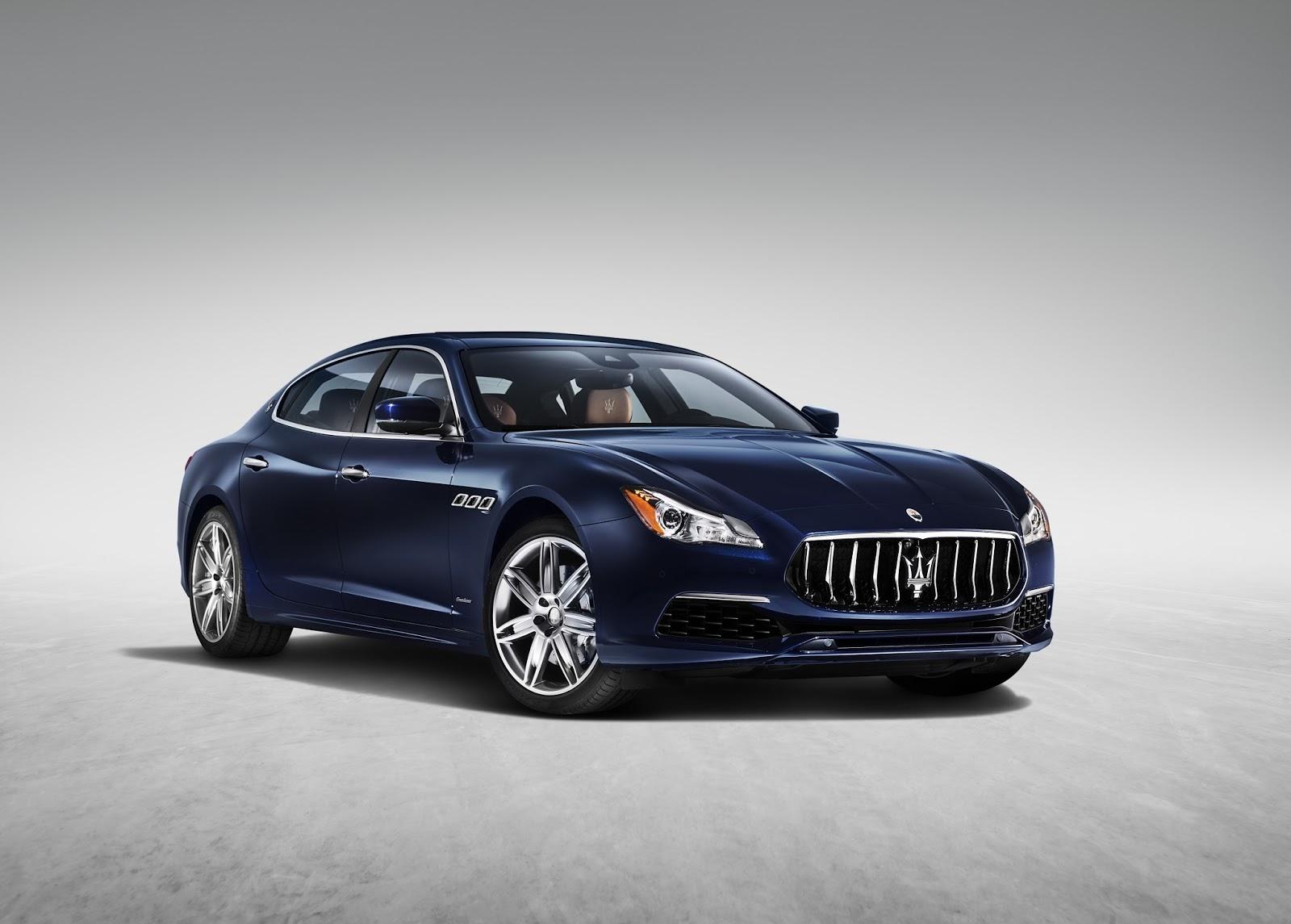 Maserati Quattroporte Facelift (2017) 4