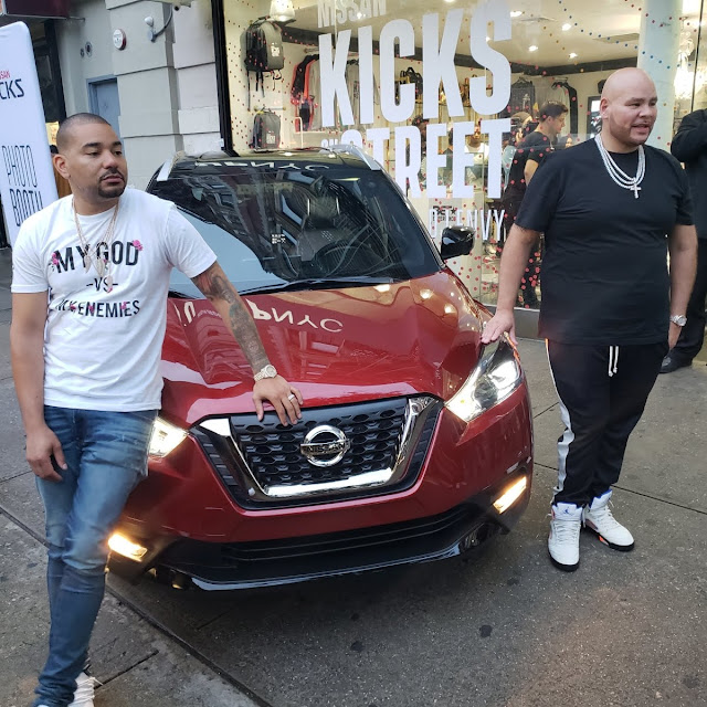 DJ Envy, Fat Joe and the Nissan Kicks at UP NYC