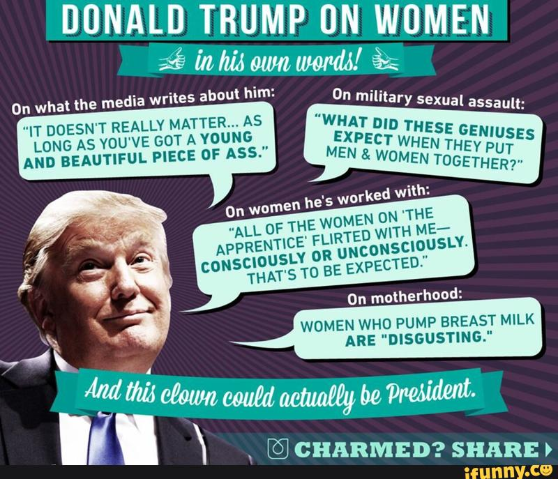 What Has Trump Said About Women