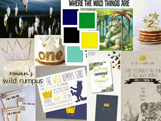 mood board monday{rowan's wild rumpus}