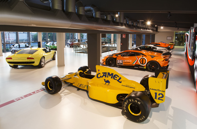 Lamborghini Opens Its Renovated Museum To The Public