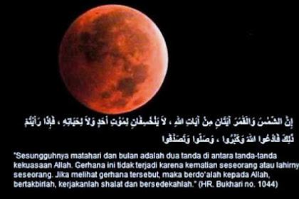 Tata Cara dan Panduan Shalat Gerhana Matahari Total menurut Ajaran Nabi Muhammad Shallallahu Alaihi Wa Sallam