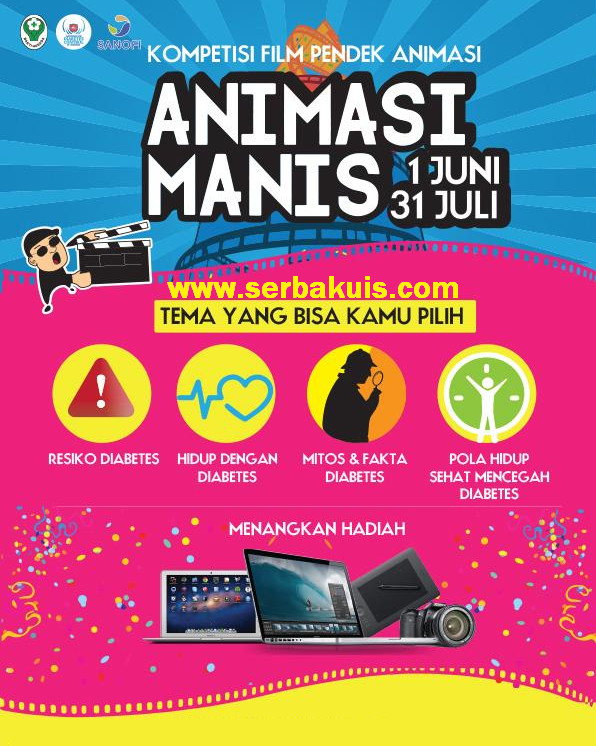 Kontes Film Animasi Manis Berhadiah 2 Macbook, DSLR, dll
