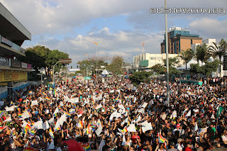 IMG 9925 - 13ª Parada do Orgulho LGBT Contagem reuniu milhares de pessoas