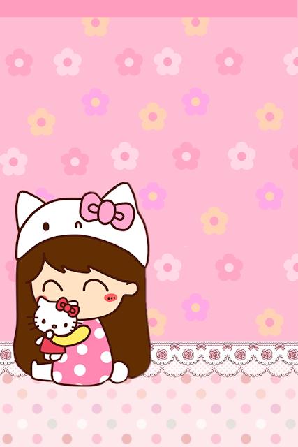 Hình nền Hello Kitty iPhone đẹp siêu dễ thương nhất năm