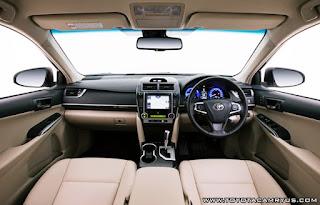 2016 Toyota Camry Atara SL Hybrid Interior