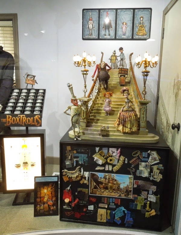 The Boxtrolls stop-motion exhibit