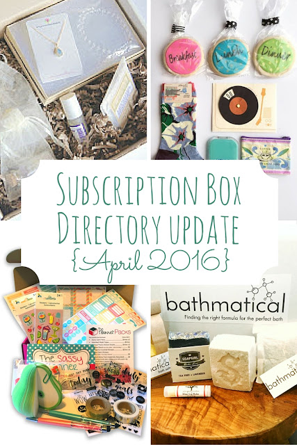 New subscription boxes for men, women, and kids are always launching. Here are the ones I added to the Subscription Box Directory this month.