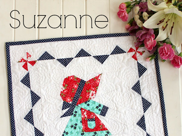 Suzanne Mini Quilt + Your Free January 2017 Calendar